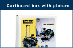 Cartboard box with picture